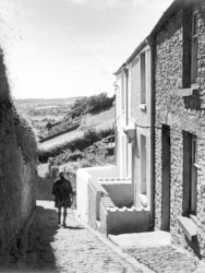 A Lane in Llantrisant, August 1962