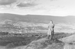 A view of Aberdare from the Graig Mountain