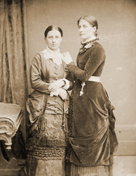 Portrait of Rees sisters