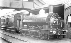 0-6-0ST No. 1029 at Aberdare Station, 2 March 1906