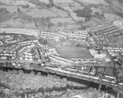Aerial View of Rhydyfelin